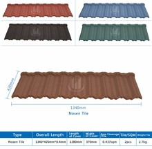colorful stone-coated oriental steel aluminium roof tile