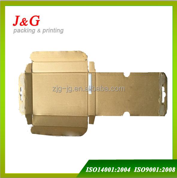custom corrugated box with chip theftproof Electronic immobilizer carton box