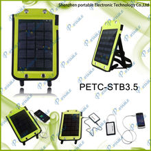 3.5W portable folding solar charger bag with unique design and function