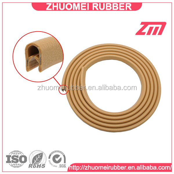 Pinchweld car door edge protector trim molding seal