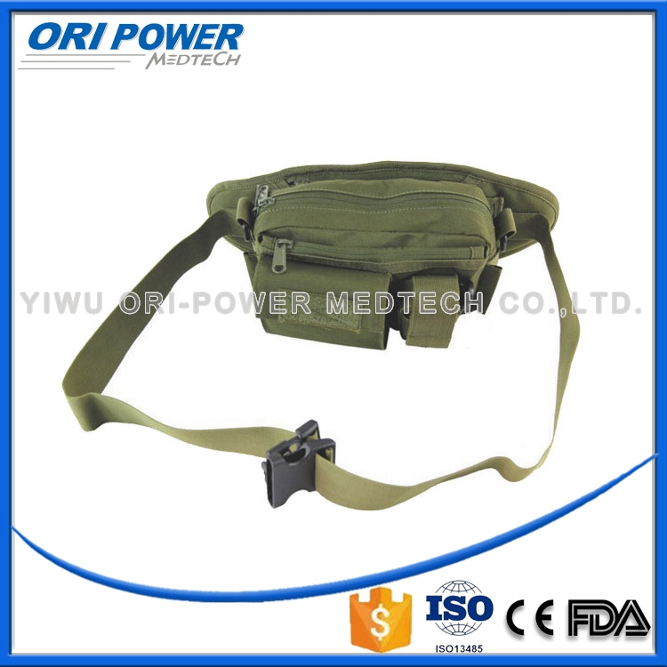 OP CE FDA ISO approved army canvas combat waist bag first aid kit
