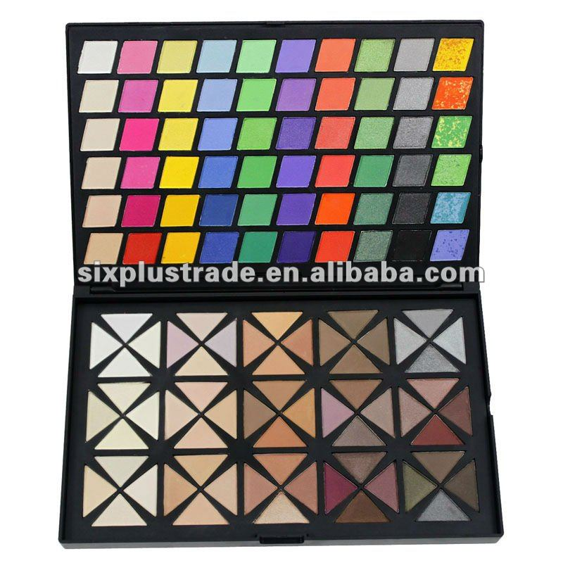 New Pro 120 Color Warm Matte Shimmer Mix Eyeshadow Make Up Palette X120