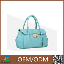 Popular fashion leather handbag discount women bag