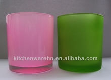 KCH-042 Haonai 4 inch glass candle holders
