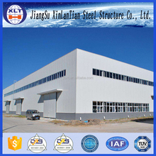 EPS firproof panel prefabricated steel structure construction building