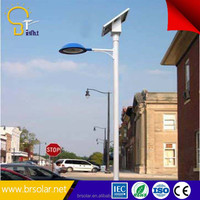 off road led light with 9m pole and 70W 24V solar led