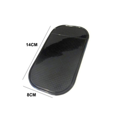 Hot selling Black pu gel sticky pad anti slip pad anti slip pad for car
