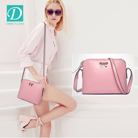 High quality pink shoulder bag women hot selling sling bag long handle elegance message bags