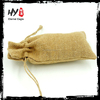 Hot selling logo printing jute burlap gift bag