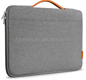 9.7-13.3 Inch Laptop Sleeve Case Cover Protective Bag , Carrying Protect Handbag for 14 inch laptop sleeve, Dark Gray