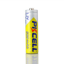 PKCELL hot sale nimh aa 600mah 1.2v aa rechargeable battery