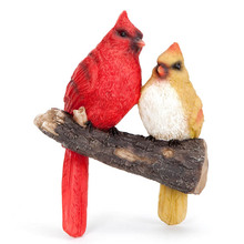 garden bird resin life wall branch dry hanger tree decoration