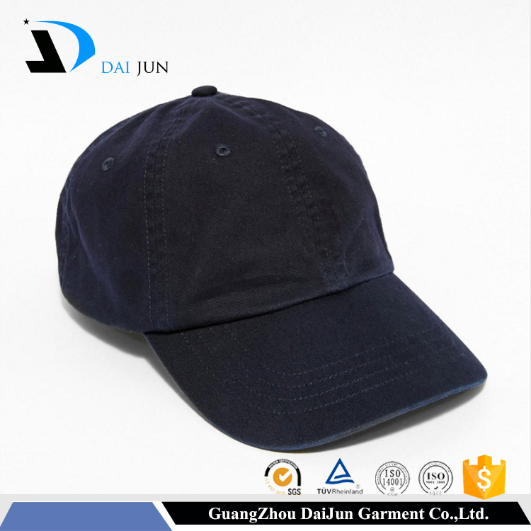 China factory high quality cheap men adjustable back strap 100% cotton blank custom ball cap
