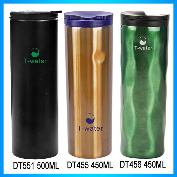 BPA free unbreakable bulk army/kids using bpa-free brushed stainless steel canteen calabash can shape water travel bottle