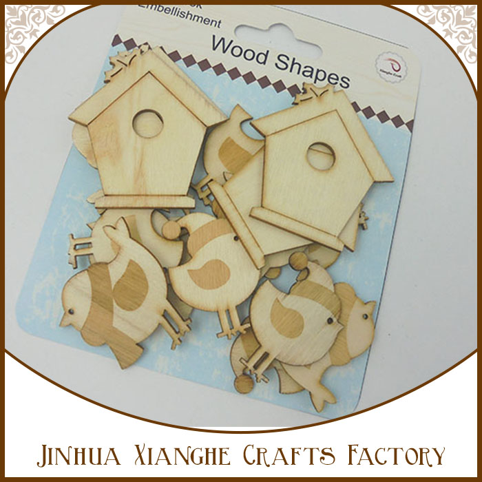 Hobby lobby wholesale unfinished wood crafts shapes laser cut for decoration