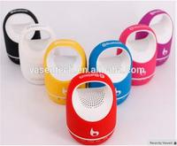 S05C Portable bluetooth speaker Handfree Receiver Support TF FM MP3 Line IN For Mobile Phones PC
