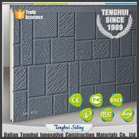 Cladding board mosaic embossed thermal insulation exterior wall board.