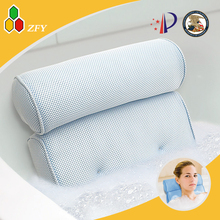 2017 new style & high quality waterproof bath pillow