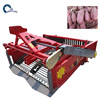 Gold alibaba supplier small peanut combine harvester harvesting machine