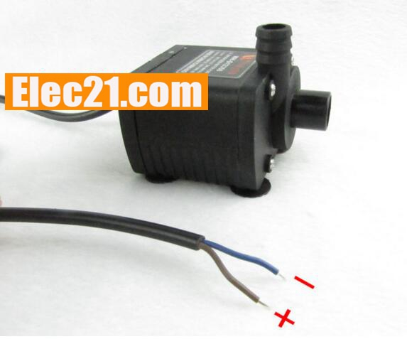 WH - D12350 ultra quiet mini DC 12V 66W brushless submersible water pump