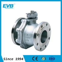 DN20 stainless steel flange type ball valve