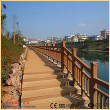 High quality synthetic flooring 25x100mm wood plastic composite floor