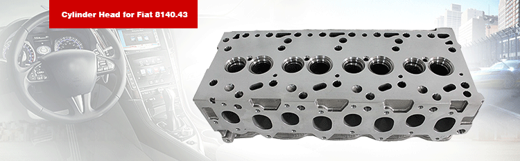 FIAT 8140.43 8140.23 Diesel Engine Cylinder Head (99443889, 908587)