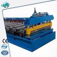 China supply multi colors roof tile color roll making machine