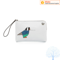 New Arrival Pu Leather clutch bags with animal pattern ladies purse wallet womens handbag