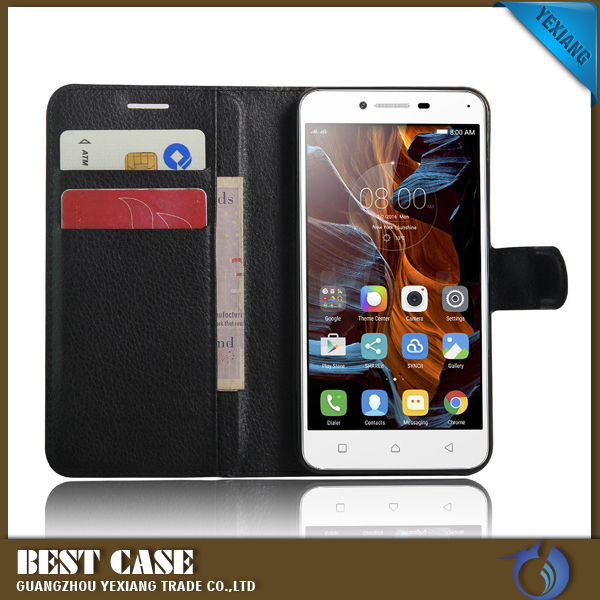 New Arrival Mobile Phone Flip Cover Case For Lenovo P2 Leather Back Cover