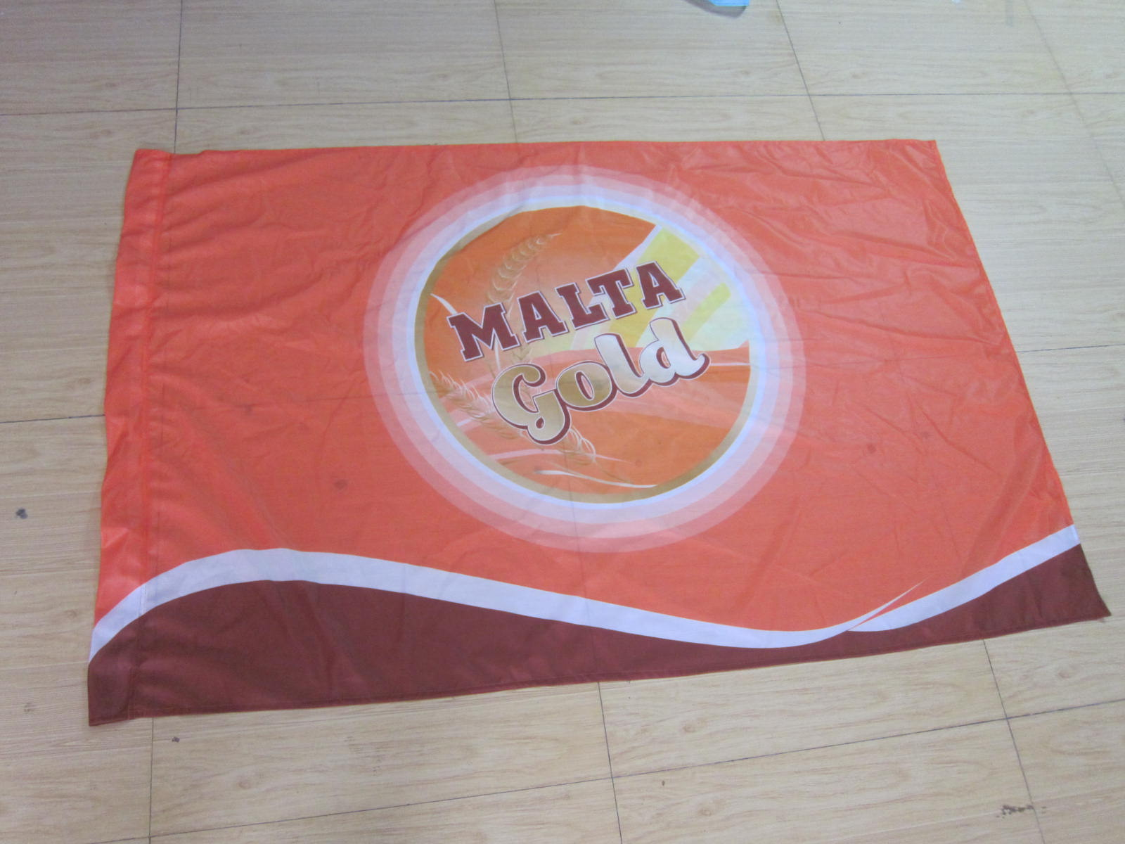 Custom Polyester Banner Printing,Large Flag Banner Advertising,Heat Trasfer/ Dye Sublimation Printed Weaving Woven Fabric Banner