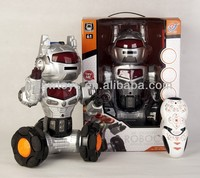 2012 Hot and New rc robot ROBOCOP IR robot with shooting&dancing RC brushless motor