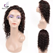 Natural Looking Full Silk Cap Lace Wig Human Hair Lace Full Wig