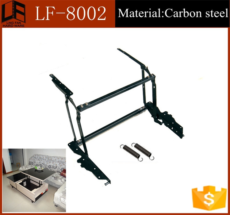 Lingfan factory spring assisted lift,mechanism for modern tables LF-8002