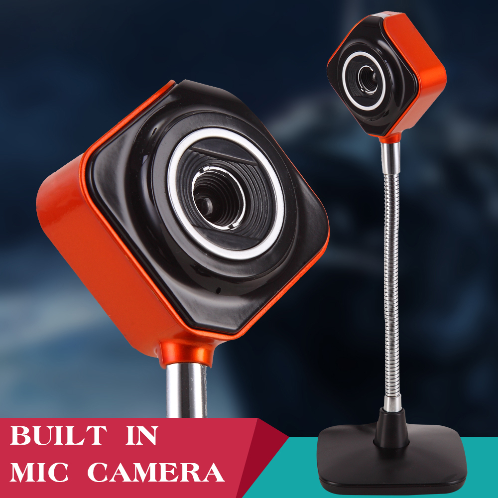 Driver free USB PC camera microphone
