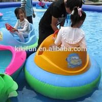 Exclusive manufacturer inflatable water electric bumper boat,battery operated bumper boat for swimming pool