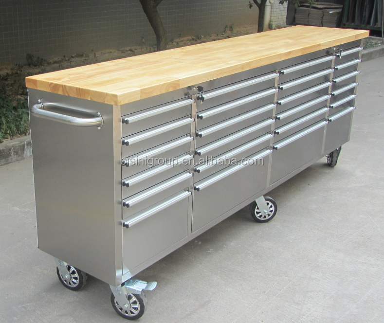 Working storage warehouse stool chest stainless steel tool box (BG10-M532)