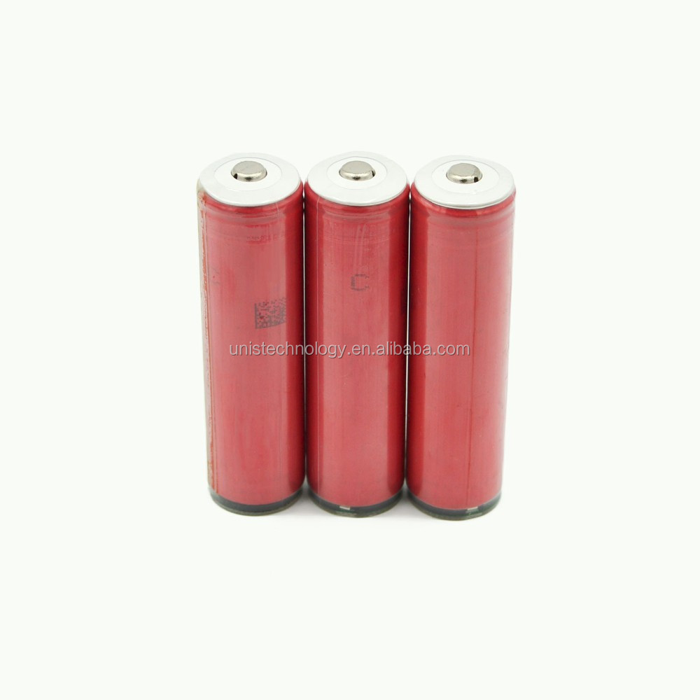Big in stock ! Button top Sanyo NCR18650GA with PCB 3500 mAh 10A 3.7V 18650 rechargeable battery use for UAV & E-bike