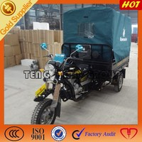 powerful heavy loading cargo tricycle/gasoline three wheel motorcycle from China/3 wheelers cargo tricycle on sale