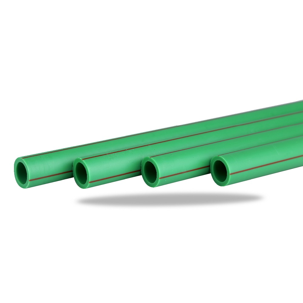 DIN Green Plastic PN 25 DN 20- 160mm PPRC pipe PPR pipe and fittings
