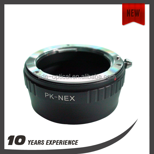 Photographic adapter ring for Pentax K/PK Lens to NEX camera PK-NEX