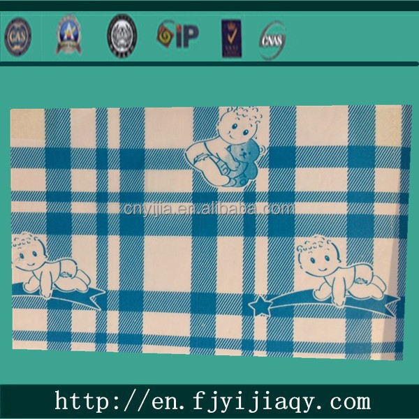high quality india blue PE film for diapers