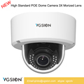 3X Video Full IP HD CCTV Camera Mini Dome POE 4 Megapixel CMOS DWDR IR 30 Meters H.264 Face Dection Camera