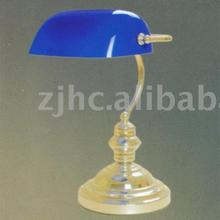 CE certificate classic indoor solid brass bank lamp