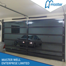 Garage glass door price lowest with CE standard