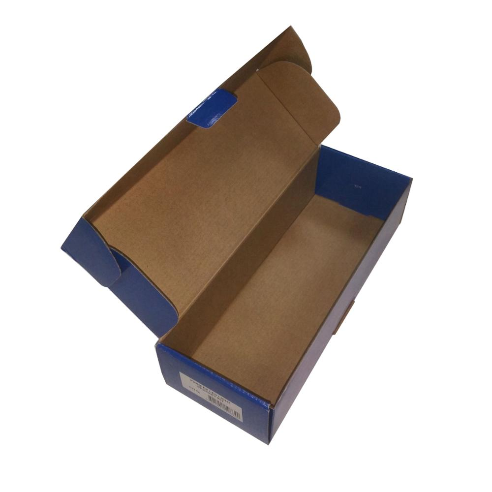 Logo printing 3 layers B flute carton packaging box for logistics transport