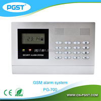 GSM control wireless calling system and security alarm system with LCD display
