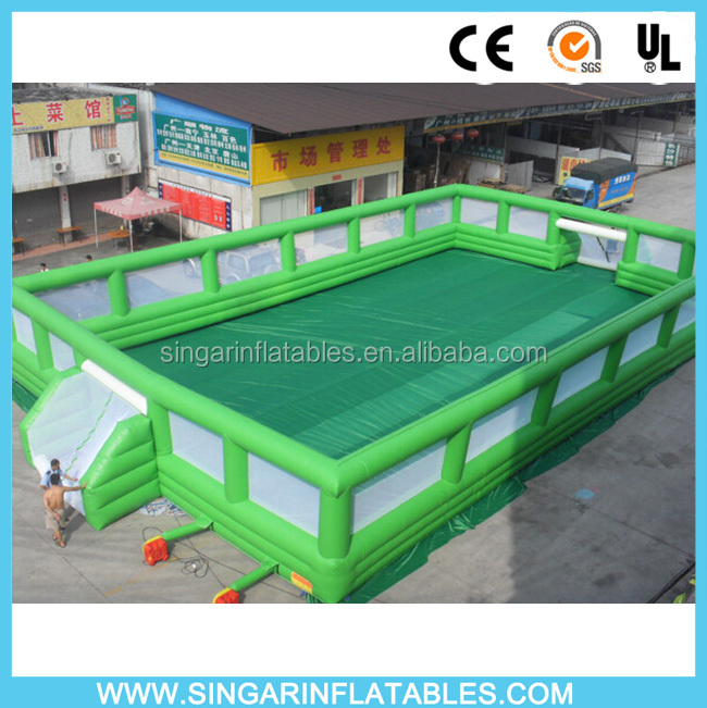 Cheap new inflatable soccer field for sale,inflatable soccer arena