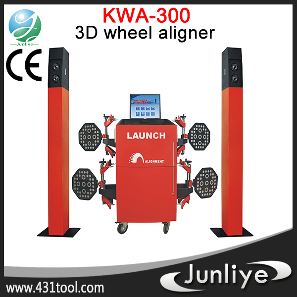 Multi-language 3D precision used wheel alignment lift machine tyre changer,tyre balancing machine