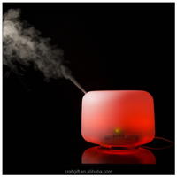 Top grade 500ml night lamp aroma diffuser Perfume home air freshener for home